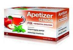 APETIZER SENIOR Herbatka fix x 20 saszetek
