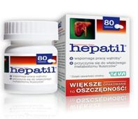 HEPATIL 150mg x 80 tabletek